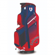 Callaway Chev Org Cart Bag - Red/Navy