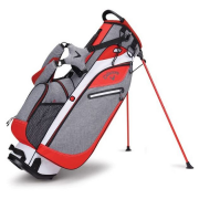 Callaway Hyperlite 3 Stand Bag - Grey/Red