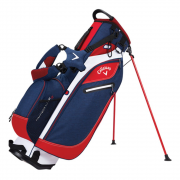 Callaway Hyperlite 3 Stand Bag - Navy/Red/White