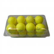 Callaway Supersoft Yellow Lake Golf Balls - 16 Balls