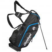 Cleveland Stand Bag - Black/Blue Trim