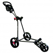Longridge Eze Glide Cruiser 3 Wheel Golf Trolley - Black