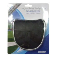 Longridge Magnetix Mallet Putter Headcover
