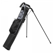 Longridge Pitch & Putt Stand Bag - Black/Silver