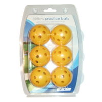 Longridge Yellow Airflow Practice Balls