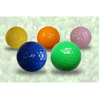 Floating Mini Golf Coloured Balls x 48 Balls