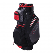 Ram FX Deluxe Cart Bag - Black/Grey/Red