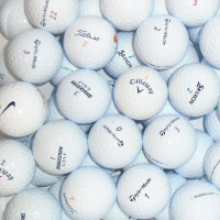 Branded Mix of Lake Golf Balls - 50 Balls