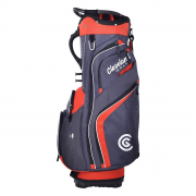 Cleveland Friday Cart Bag - Charcoal/Red
