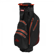Longridge Aqua 2 Waterproof Cart Bag - Black/Red