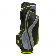 Longridge X-Lite Cart Bag - Black/Silver/Yellow