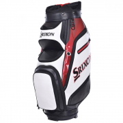 Srixon Tour Cart Bag - White/Black/Red - 2019