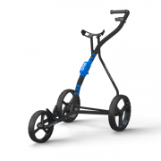 Wishbone One 3 Wheel Golf Trolley - Black/Blue