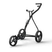 Wishbone One 3 Wheel Golf Trolley - Black/Grey