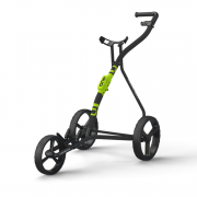 Wishbone One 3 Wheel Golf Trolley - Black/Lime